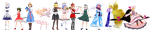[MMD] PCB Crew by Totalheartsboy