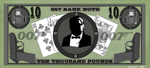 Bond Bank Note by countevil