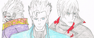 Faces of Vergil by Sobies516pl