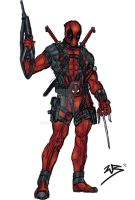 Deadpool Character Design by RobsonInk