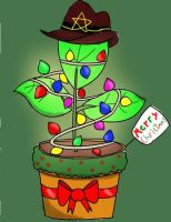 Planty the Christmas Plant by mordyfan13