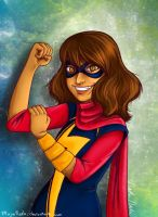 Kamala Khan-Ms. Marvel by MajinNeda