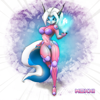 Null Suit Moxxi by walcor