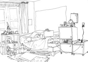 room by Asiulus