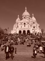 Steps of Montmartre by jmasker
