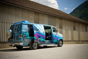 Custom Van II by AmericanMuscle