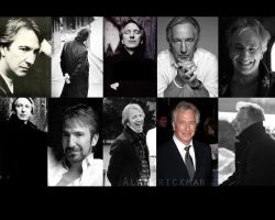 The Many Faces of Alan Rickman by LunaDarkness