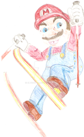 Realistic mario by ElvisDitto