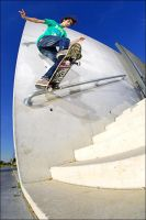 Akim - Backtailslide Fakie by SnoopDong