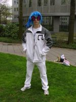 Dj Pon3 Cosplay by SixSamMaster