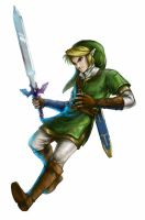 Shieldless Link by EternaLegend