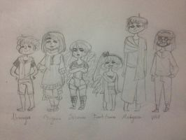 {TR} APH chibi OCs by Russane