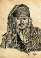 Captain Jack Sparrow by MrSandman12