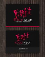 Kooji Wear Business Card by Flamix