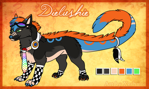 Dielushie Reference Sheet... by Prince-Lui
