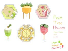 Fruit Tree Houses by toumin