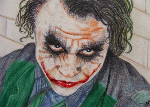 Joker - ACEO by Sofera
