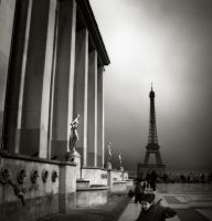 sketches from Paris VIII... by Kaarmen