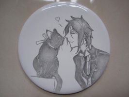 Black Butler Coaster by Timelady93