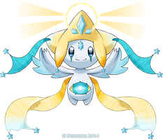 Mega Jirachi by Deltheor
