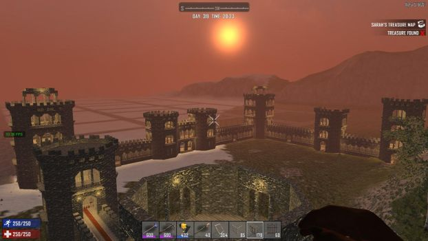 7days to die - Castle project ! / phase 10 - final by Maileksa