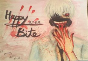 tokyo ghoul .::. happy bite by IMstranger