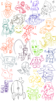 How many of these do you know? by Memoski