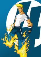 The Human Torch by Rohane
