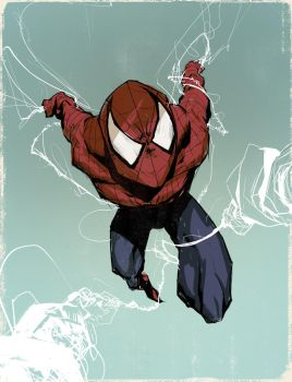 Spidey colours by DeerandFox