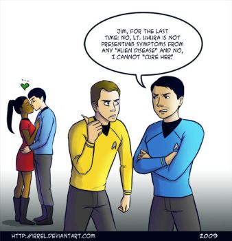 Star Trek - SPOCKBLOCKED by Irrel