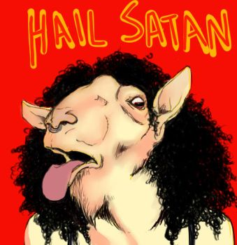 Hail Goat by vacanthelm