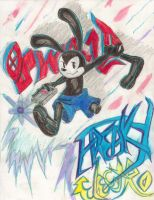 Oswald's Freaky Electro by BoxcarChildren