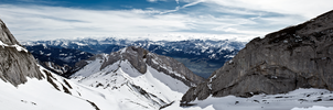 Mount Pilatus by Bathlamos