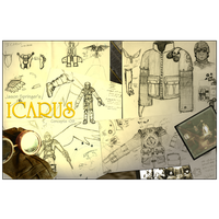 Icarus Concepts by Myndtwitch