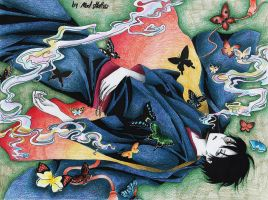 Watanuki by Mad-Hatter----X