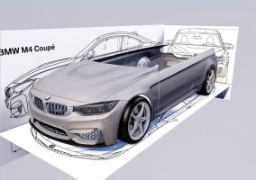 BMW M4 Coupe 6 by Artsoni3D