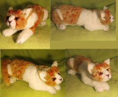 Brother Cream Realistic Soft Sculpture 2 by Jarahamee