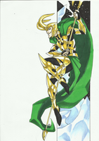 Marvel Villains Speed Paint Week 006: LOKI by MAD-project