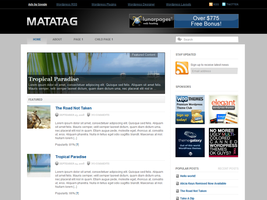 Matatag WordPress Theme by dulcepixels