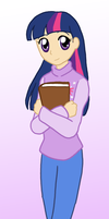 Human Twilight Sparkle by CardcaptorKatara
