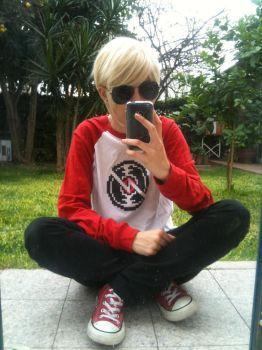 Dave Strider by cat-doodle