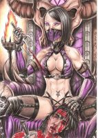 Mileena the princess of OutWorld by DesertoMental