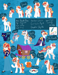 Doodle Flare Reference Sheet Redux by Catastrophic-Success