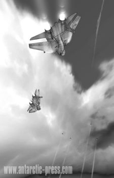 diving tomcats by joewight