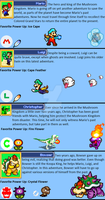 Mario and Luigi: Through the Ages Heroes Bios by Green-Raptor