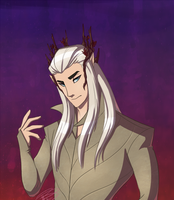 Thranduil by DeceptiveShadow