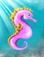 Sea Horse by geovanialdrighi