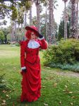 Madame Red - Stroll through the gardens 2 by buffyviva