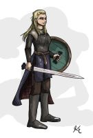 Daily - 50 Lagertha by LeechLights