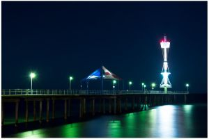 Brighton Jetty by Fenrisulfrxx